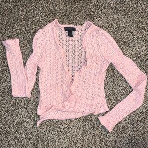 Express Design Studio Angora blend crop sweater